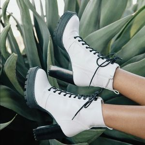Claudia Sulewski x BP. Evie lace up bootie
